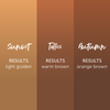 Sunset Brow Collection - From Tina Davies and Permablend