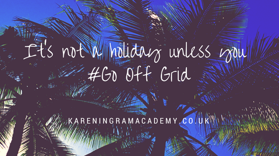 It's not a holiday unless you Go Off Grid