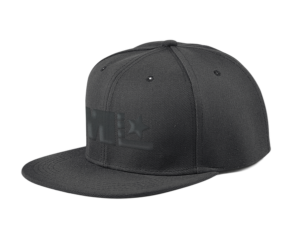 Motivated Life - Snapback - Black with Black Logo