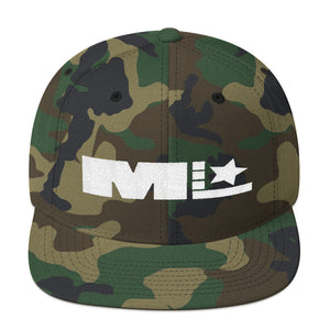Motivated Life - Snapback - Camo with White Logo