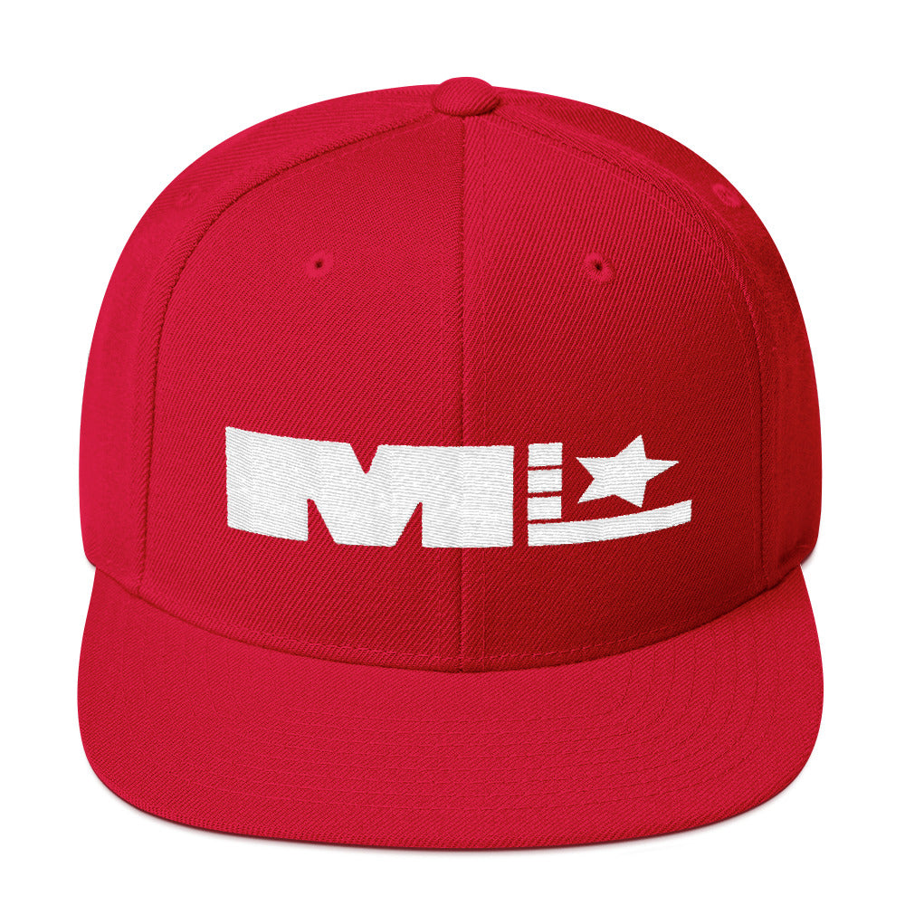 Motivated Life - Snapback - Red with White Logo