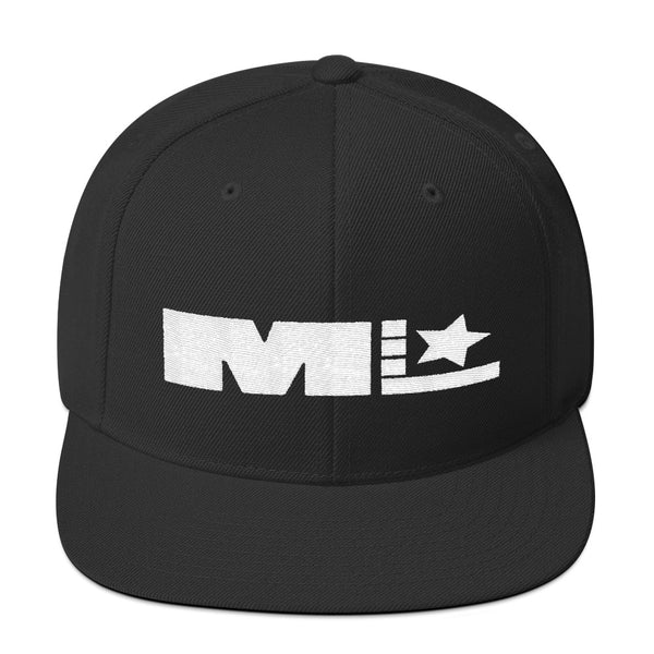 Motivated Life - Snapback - Black with White Logo