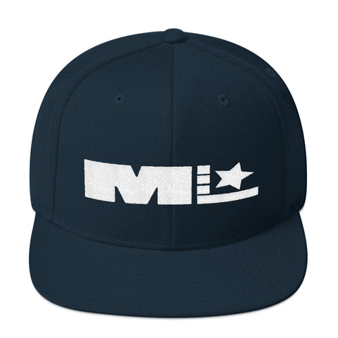 Motivated Life - Snapback - Navy Blue with White Logo