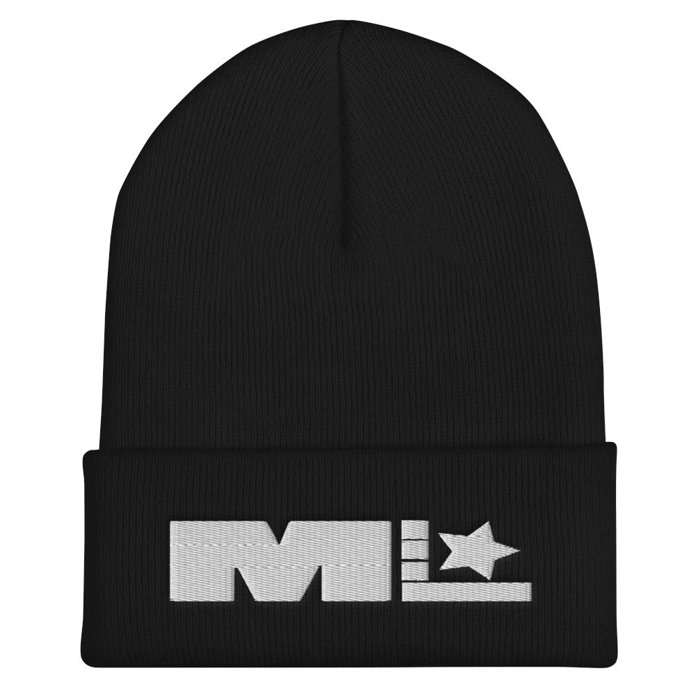 Motivated Life - Black Beanie