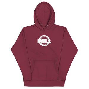 Motivated Life - Maroon Unisex Classic Hoodie with Superhero Logo