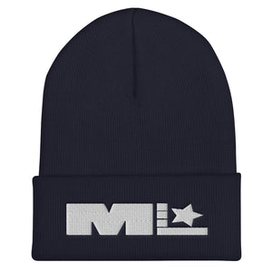 Motivated Life - Navy Blue Beanie