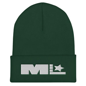 Motivated Life - Green Beanie