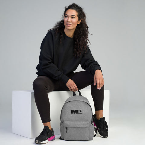 Motivated Life Embroidered Backpack