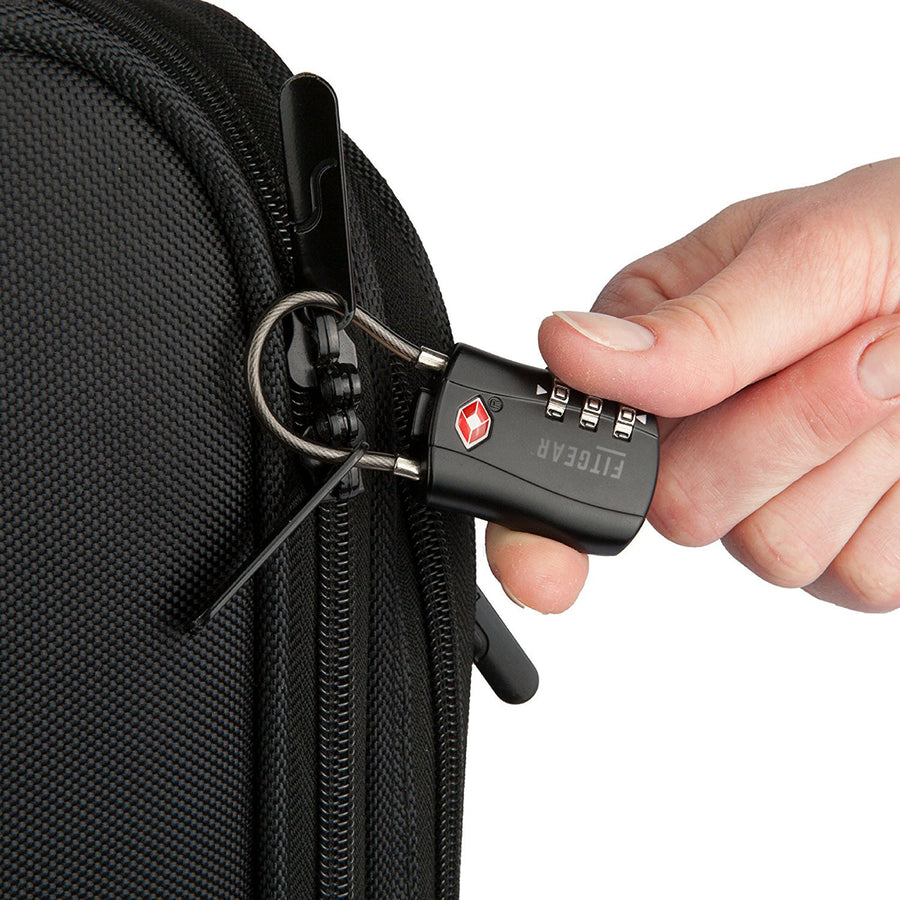 TSA 3-pin cable luggage lock