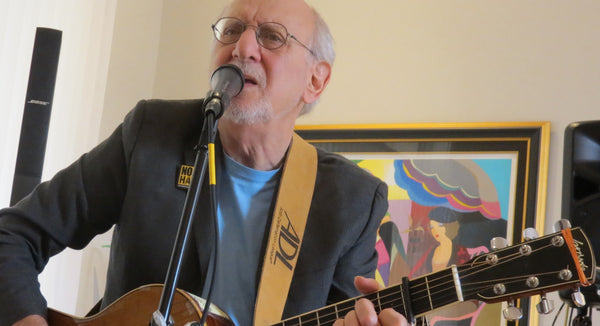 Peter Yarrow Custom Guitar Strap