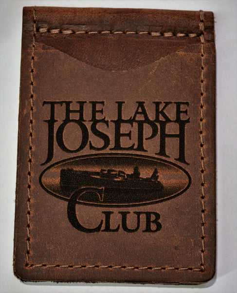 Custom Wallets for The Lake Joseph Club