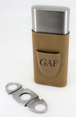 Custom Cigar Case With Cutter