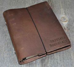 Planner - Custom Engraved Leather