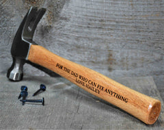 Claw Hammer - Custom Engraved