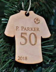 Sports Jersey -  Wooden Ornaments and Magnets