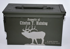 Custom Ammo Boxes - ELK - Design 19