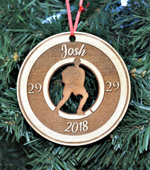 Christmas Ornament - Hockey Player