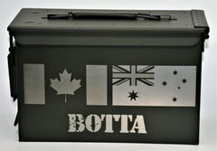 Ammo Boxes Any Country Flag - Design 21