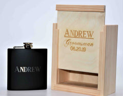 Custom Engraved Flask - Design 72
