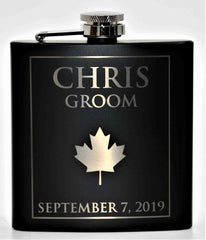 Custom Engraved Flask - Design 74