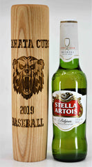 Baseball Bat Mugs - Custom Engraved 12oz