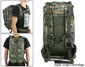Military Backpack 30L Capacity Bug Out Bag