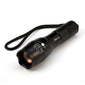 Tactical 8000 Lumens Zoom LED Flashlight