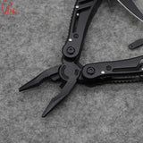 Black Multitool with Accessories