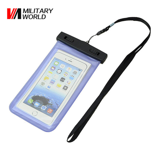 100% Waterproof Pouch Case for Phones & other Valuables