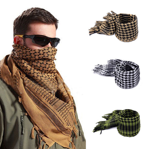 Military Style Face and Neck Wrap Scarf