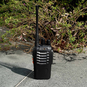 4 Piece Walkie Talkie Set with Chargers and Earpieces