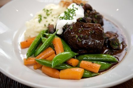 Zinfandel Braised Creekstone Farms Short Ribs
