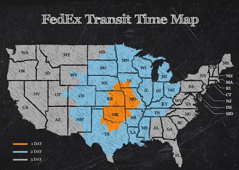 Shipping Transit Map