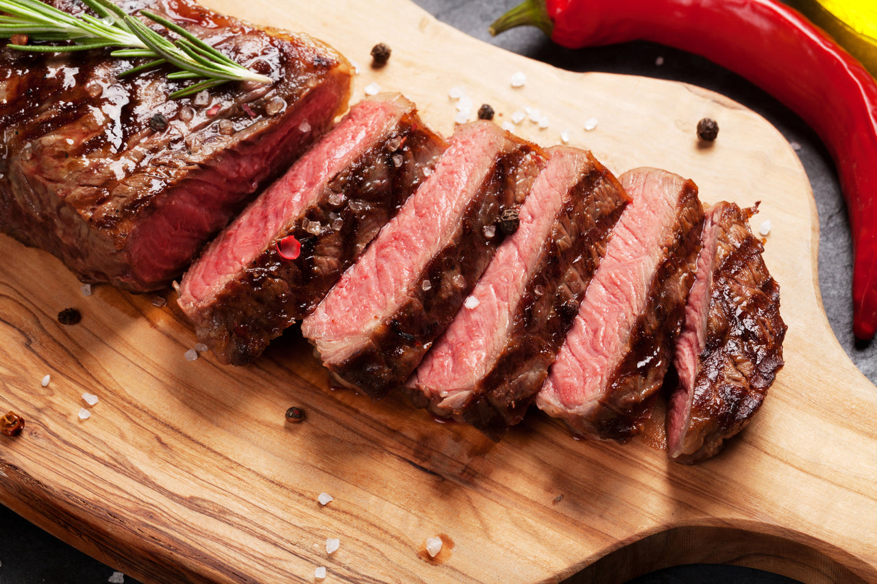 USDA Prime Boneless Strip Steaks