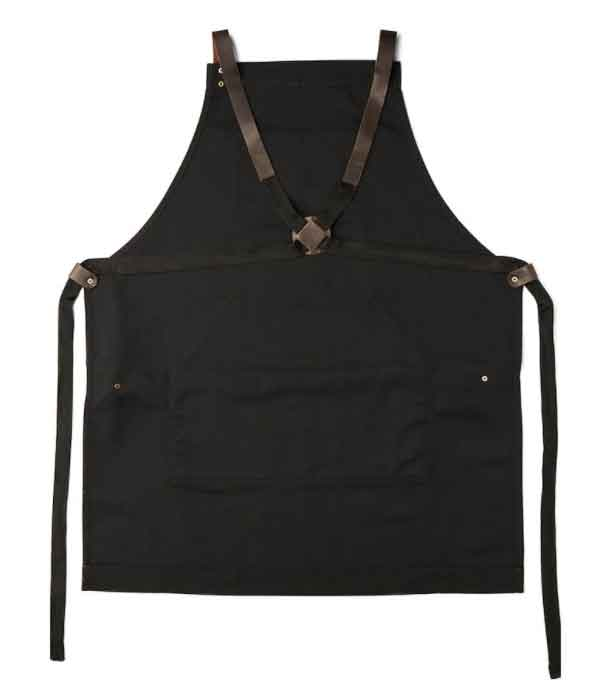 Creekstone Farms Leather Patch Apron