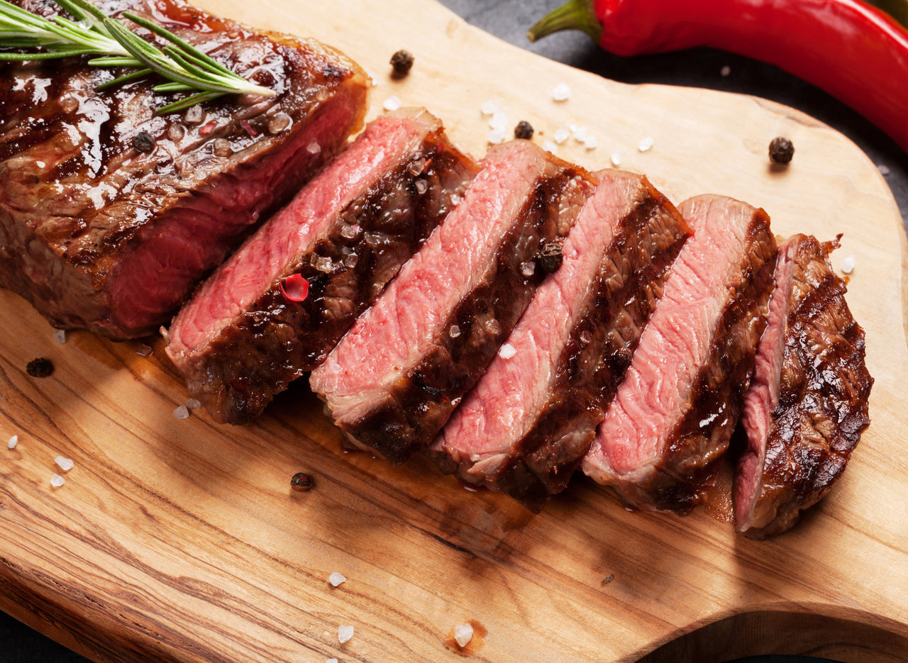Natural Choice Strip Steaks (12 / 12 oz. steaks) - While Supplies Last