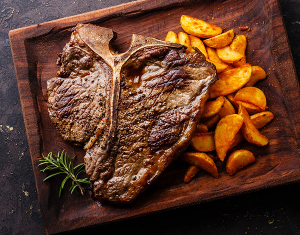 Natural Choice T-Bone & Porterhouse Steaks - While Supplies Last