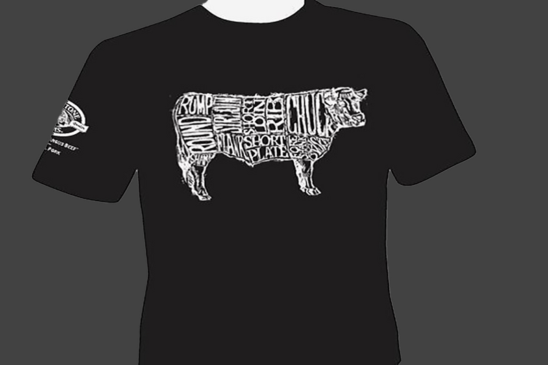 Creekstone Farms Beef Steer T-Shirts