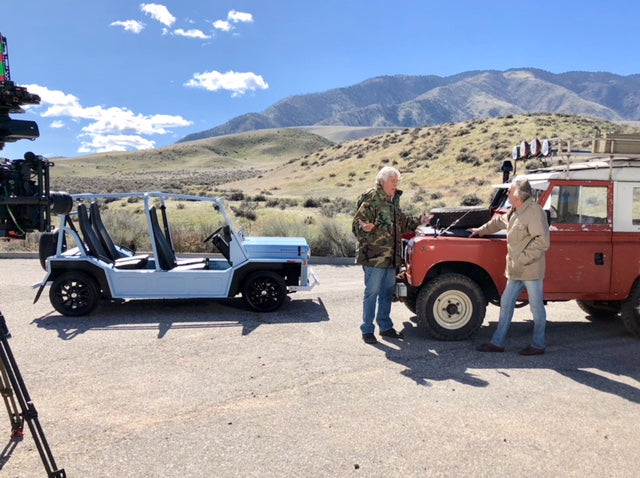Moke America Filming With Jay Leno!