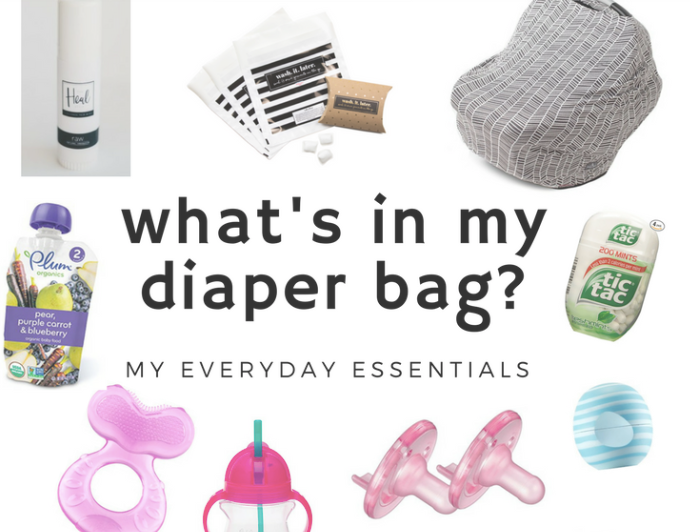 WHAT'S IN MY DIAPER BAG?