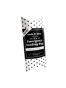 3 Grab & Go Emergency Soak & Save Bags!