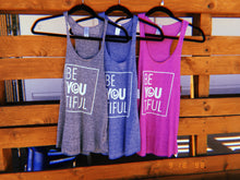 BeYOUtiful SoCal Racerback Tank Top