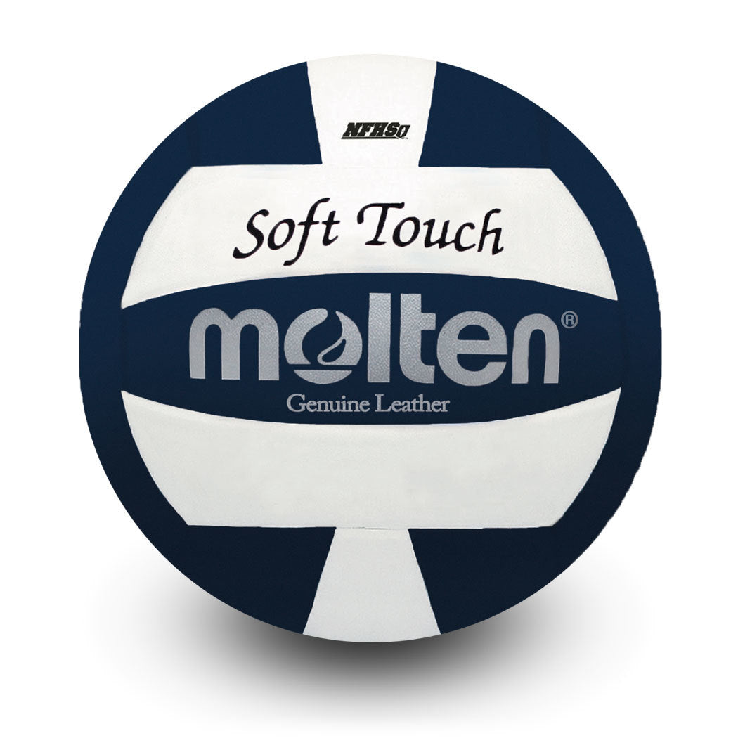 MOLTEN SOFT TOUCH VOLLEYBALL- BLUE