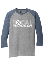 Men's SoCal Heather Baseball Tee
