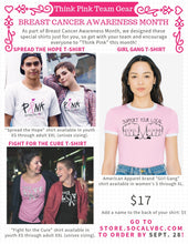 FIGHT FOR THE CURE T-SHIRT