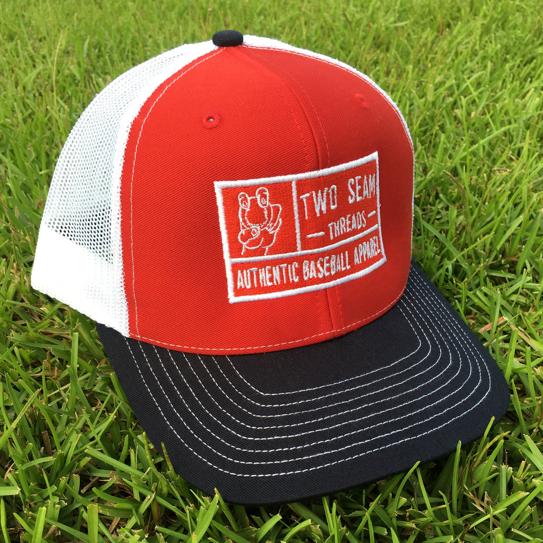 SALE Mid-Pro Trucker Red/White/Navy
