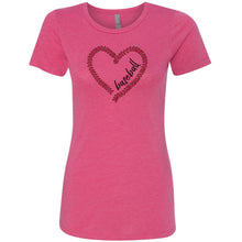 LOVE Baseball Short Sleeve Tee
