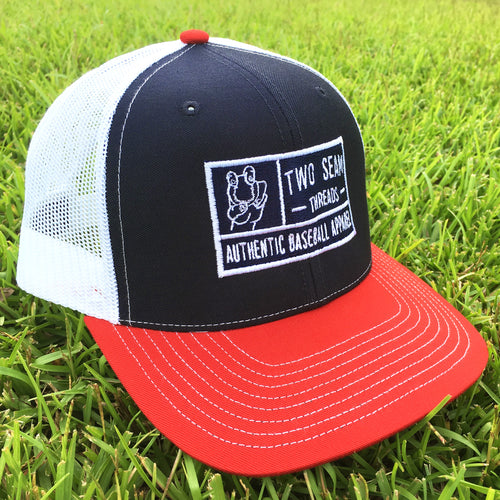 Mid-Pro Trucker Navy/White/Red