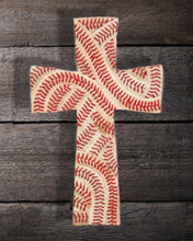 Signature Baseball Cross Print