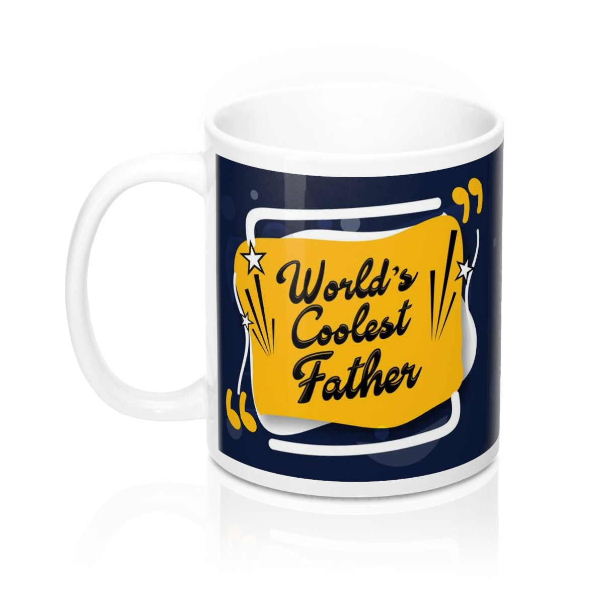 Distinct Interior Coolest Father Mug With Photo